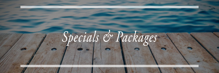 Specials and Packages